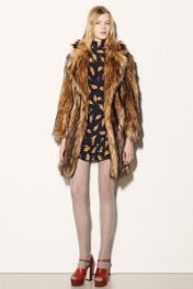 Fake Fur Red Valentino